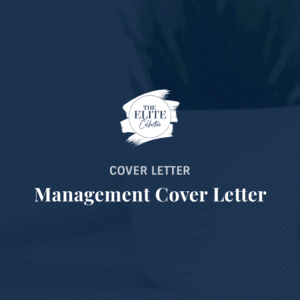 Management Cover Letter Product Image